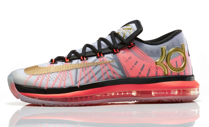 new style 4661e af110 Nike KD 6 Elite Gold Collection