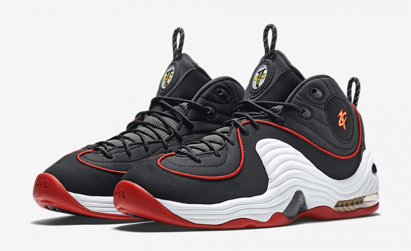 Nike Air Penny 2 Miami Heat 2016