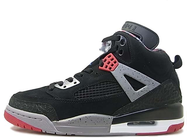 ShoeFax - Air Jordan Spizike Black   Varsity Red - Cement Grey a0accb5b6