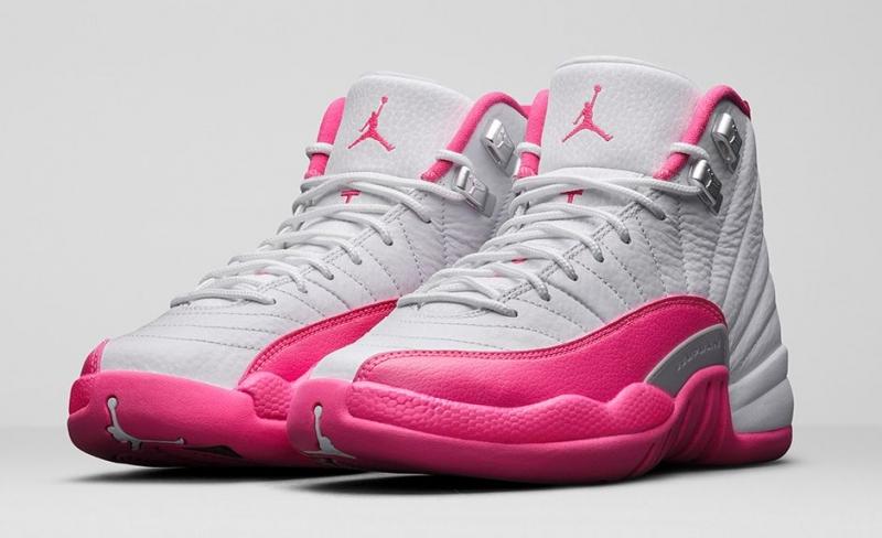 premium selection 04e5e 02166 Air Jordan 12 GS Vivid Pink