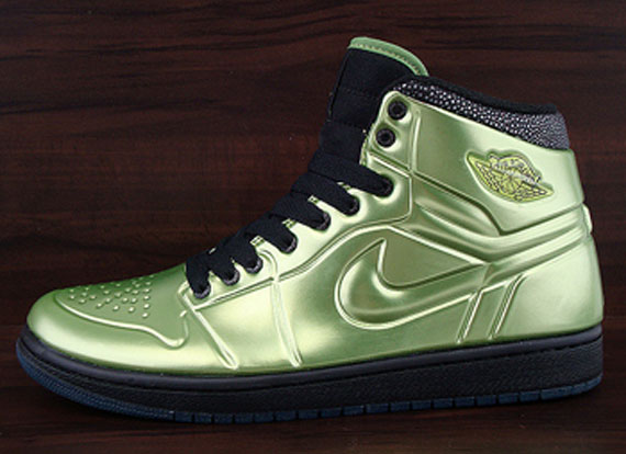 new arrival fefe8 818bd ... canada air jordan 1 anodized altitude green black 68d22 63b1b