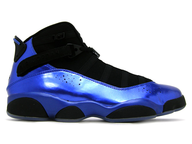 Air Jordan 6 Rings Black Varsity Royal