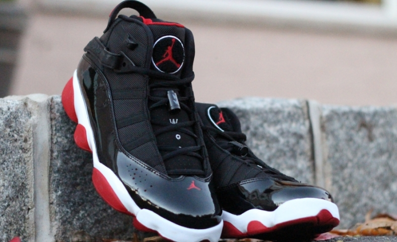 ShoeFax - Air Jordan 6 Rings Black