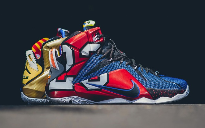 best website 2ffb7 08200 Nike LeBron 12 What The