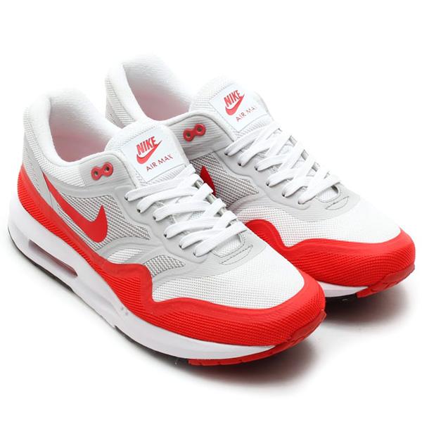ShoeFax - Nike Air Max Lunar 1 White Challenge Red