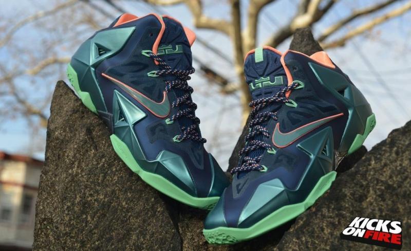 ddb7ddfaf10 ShoeFax - Nike LeBron 11 Akron Vs Miami