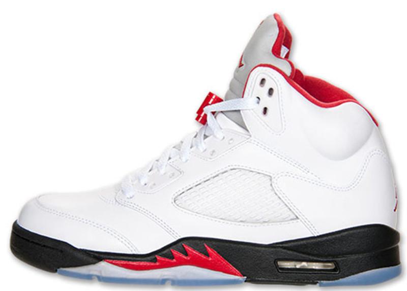 Air Jordan 5 Fire Red 2013