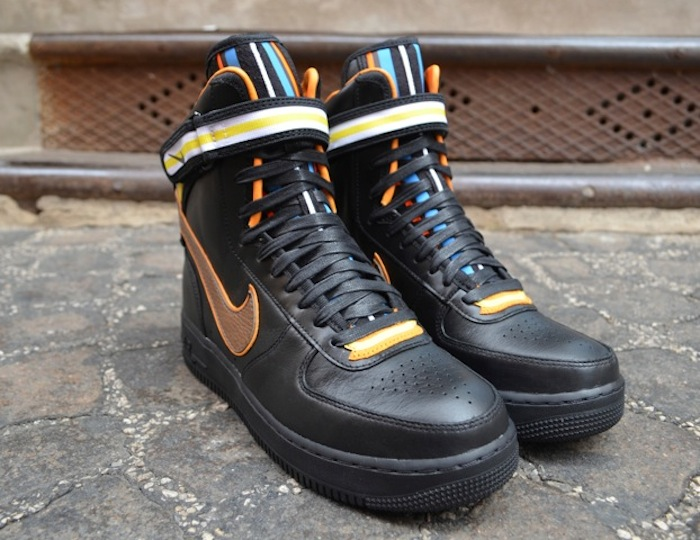 ShoeFax Riccardo Tisci x Nike Air Force 1 Hi Black