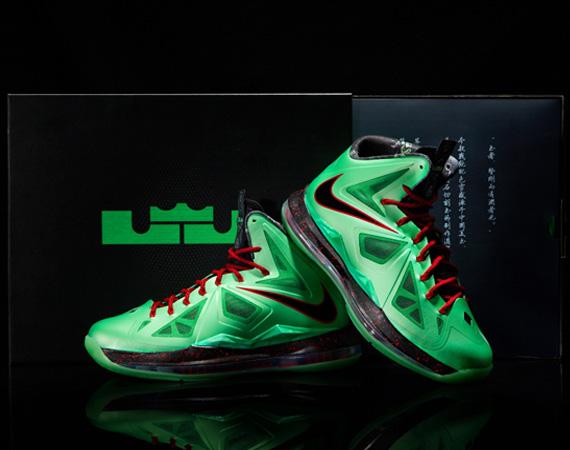 ShoeFax - Nike LeBron 10 Cutting Jade