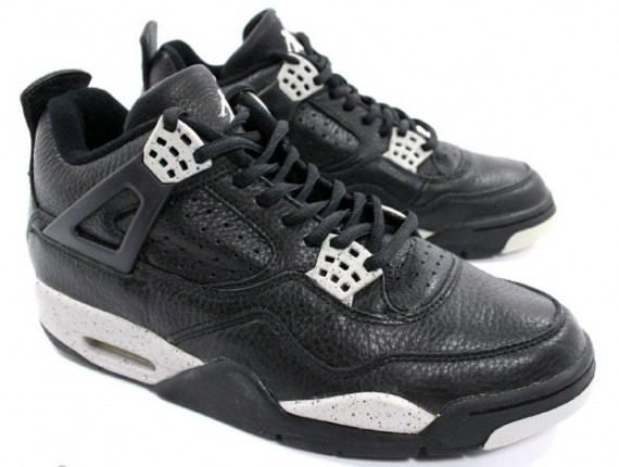 Air Jordan 4 1999 - Black / Black - Cool Grey