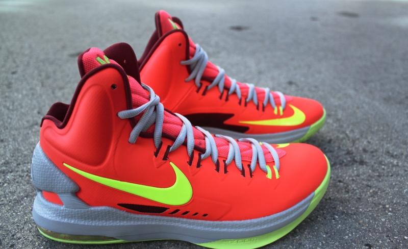 2877fe19dc0 Nike KD 5 DMV   Crimson