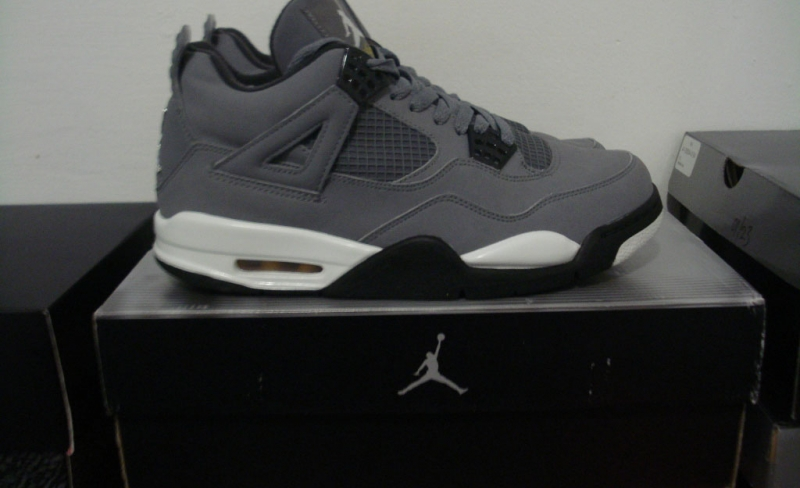 8a950665b811f5 ShoeFax - Air Jordan 4 Cool Grey