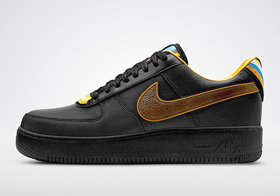 new product 2776d 27f48 ShoeFax - Riccardo Tisci Nike Air Force 1 Low Black