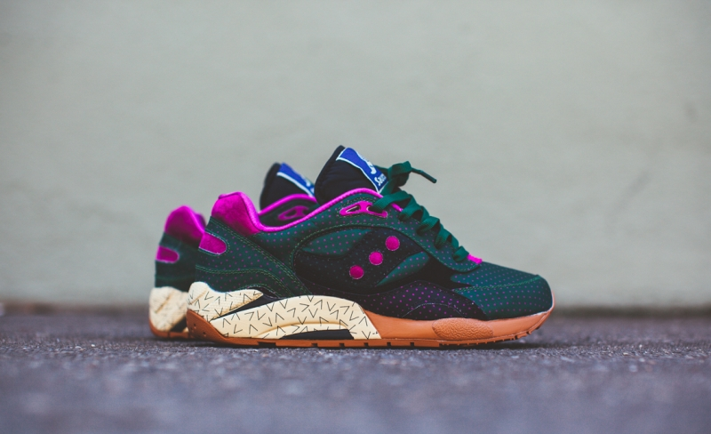 Bodega Saucony G9 Shadow 6 Polka Dot Pack