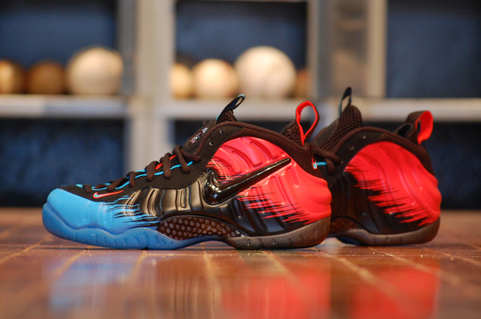 best sneakers 79e89 dabfb Nike Foamposite Pro Spider Man