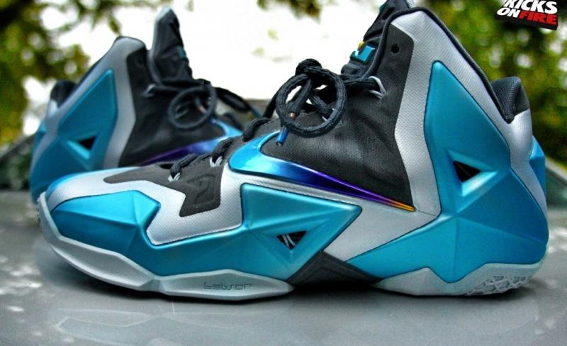 ShoeFax - Nike LeBron 11 Gamma Blue