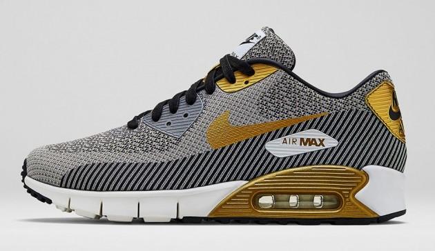 Nike Air Max 90 Jacquard Gold Hypervenom