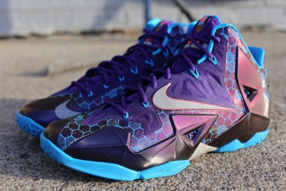 5dea0fab20e74 ShoeFax - Nike LeBron 11 Hornets