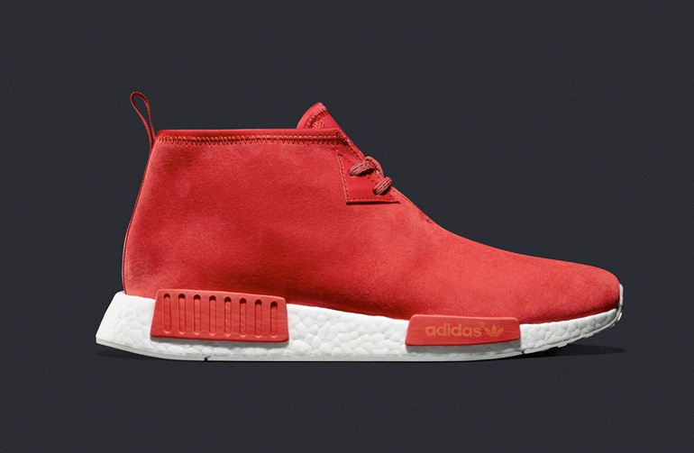e971765e6 Adidas NMD Chukka Lush Red