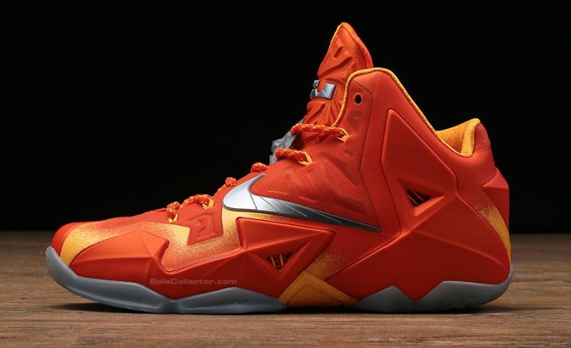 half off 8b6d5 76400 Nike LeBron 11 Forging Iron