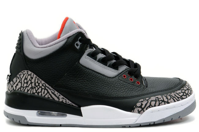 Air Jordan 3 Black Cement (2011)