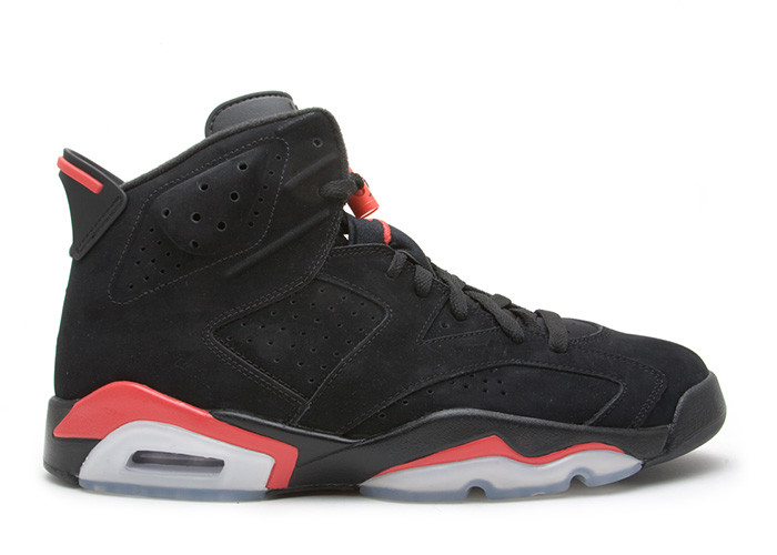 2010 Air Jordan 6 Black Varsity Red