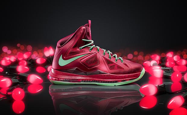 Lebron Christmas 10.Shoefax Nike Lebron 10 Christmas