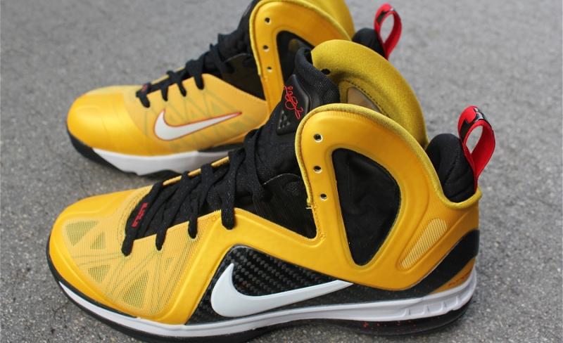 Nike LeBron 9 PS Elite Taxi