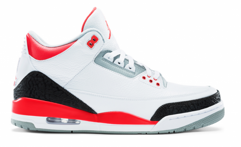 Air Jordan 3 Fire Red (2013)