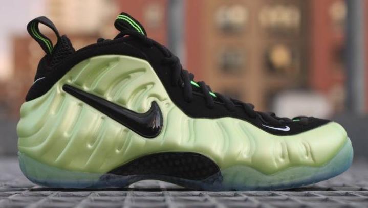 pretty nice 6c831 74d82 Nike Foamposite Pro Electric Green
