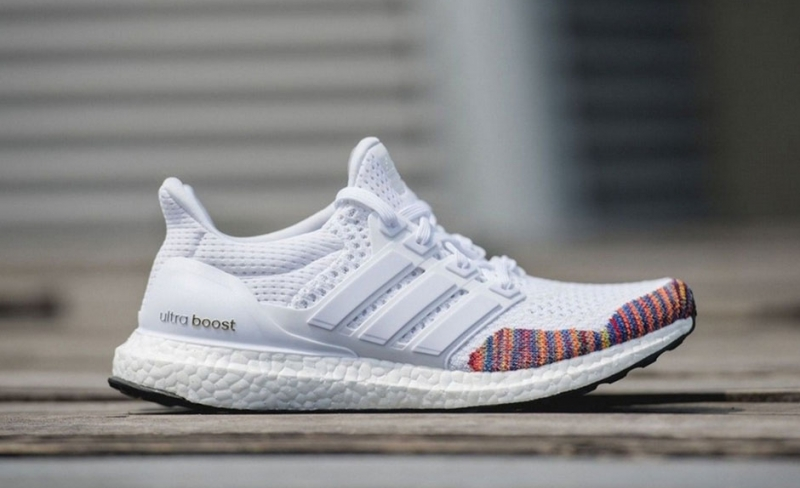 Adidas Ultra Boost Rainbow LTD White