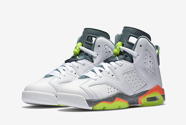 Air Jordan 6 GS Ghost Green