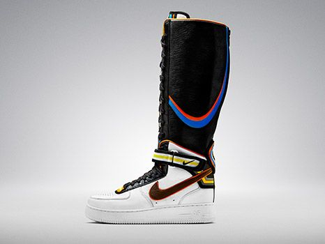 huge discount 144cc 8bc4f Riccardo Tisci x Nike Air Force 1 Boot White