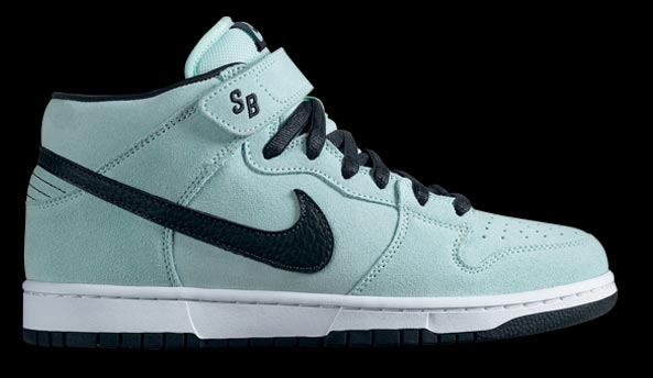 outlet store 668cf 8db5e Nike Dunk Mid SB Ice Green   Charcoal