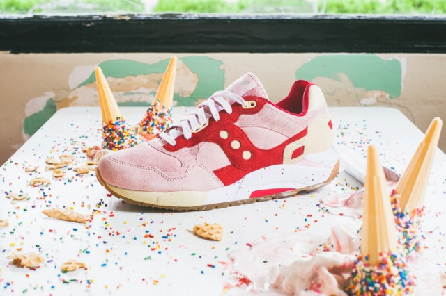 Saucony G9 Shadow 5000 Vanilla Strawberry