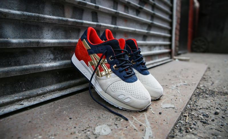 Concepts x Asics Gel Lyte 3 Boston Tea Party
