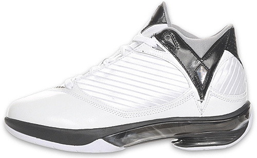 88cb0edf2fc3 Air Jordan 2009 White   Metallic Silver - Black