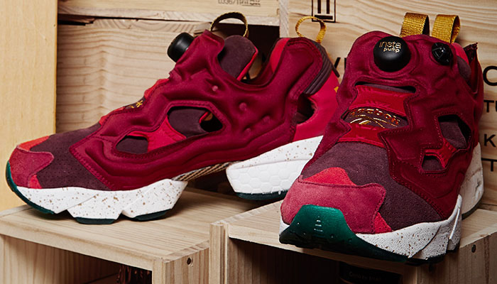 END x Reebok Insta Pump Fury Claret