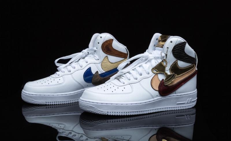 Brand New 2017 Custom Nike Air Force 1 Size 11.5 Flowerbomb