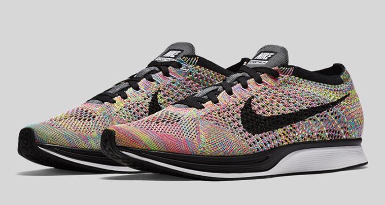 finest selection 7dc79 c1a4e Nike Flyknit Racer Multicolor 2016