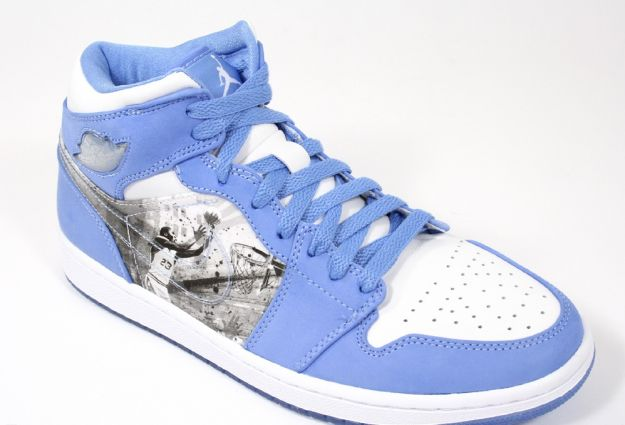 Air Jordan 1 Alpha - White / Black - University Blue